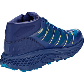 Hoka One One Speedgoat WP Zapatillas Running Corte Medio Mujer, seaport/medieval blue